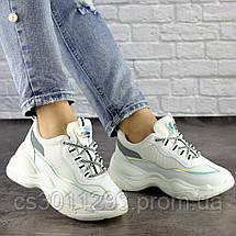 Женские кроссовки Fashion Noiraud 1496 37 размер 24 см Белый, фото 3
