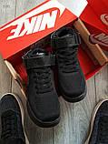 Мужские кроссовки Nike Air Force Flyknit Hight Black, фото 2