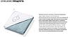 Полотенце махровое с капюшоном BabyOno 100х100 см Облака (голубое), фото 7