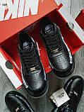 ДЕМИСЕЗОН! Мужские кроссовки Nike Air Force Skeleton QS Black, фото 2