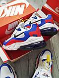Мужские кроссовки Nike Air Mаx 270 Reаct Blue/White/Red, фото 3