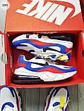 Мужские кроссовки Nike Air Mаx 270 Reаct Blue/White/Red, фото 6