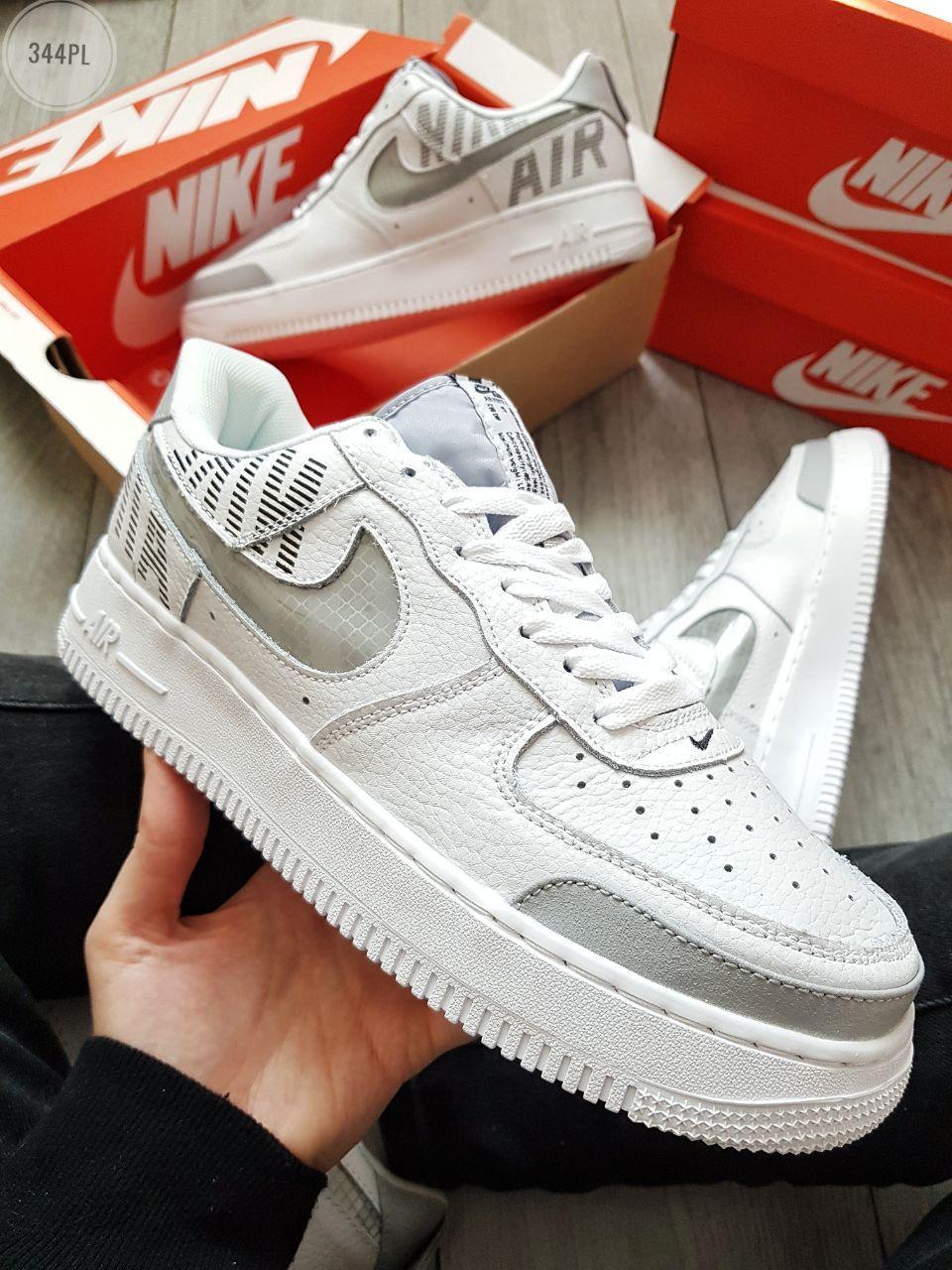 Мужские кроссовки Nike Air Force 1 Low Under Construction White/Grey