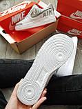 Мужские кроссовки Nike Air Force 1 Low Under Construction White/Grey, фото 9