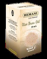 100% Натуральное масло рисовых отрубей Hemani 30 мл