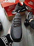 Мужские кроссовки Nike Air Max 270 Grey, фото 2