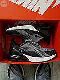 Мужские кроссовки Nike Air Max 270 Grey, фото 7