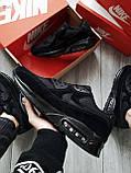 Мужские кроссовки Nike Air Max 90 Black, фото 4