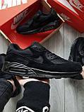 Мужские кроссовки Nike Air Max 90 Black, фото 6