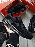 Мужские кроссовки Nike Air Max 90 Black, фото 7