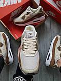 Мужские кроссовки Nike Air Max 90 Beige/Brown, фото 2