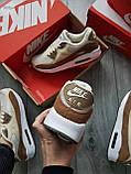 Мужские кроссовки Nike Air Max 90 Beige/Brown, фото 3