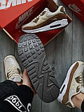 Мужские кроссовки Nike Air Max 90 Beige/Brown, фото 5