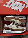 Мужские кроссовки Nike Air Max 90 Beige/Brown, фото 7