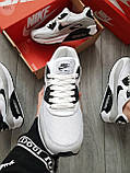 Мужские кроссовки Nike Air Max 90 White/Grey, фото 2