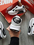 Мужские кроссовки Nike Air Max 90 White/Grey, фото 3