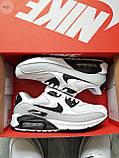 Мужские кроссовки Nike Air Max 90 White/Grey, фото 8