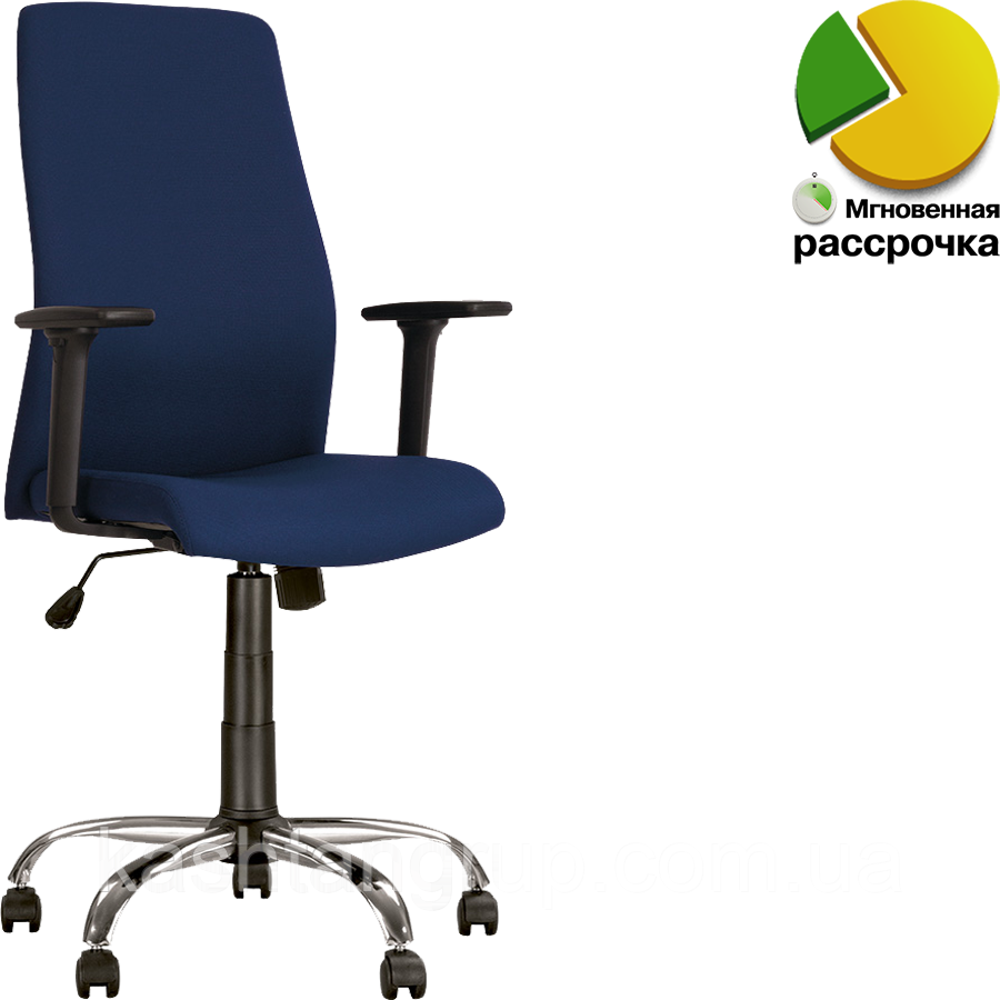 Кресло SOLO R steel SL CHR68