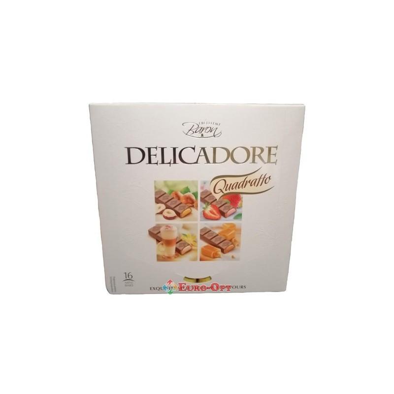 Шоколад молочный Delicadore Baron Quadratto, 200г
