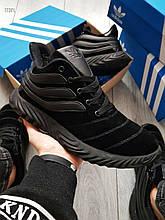 Мужские зимние кроссовки Adidas Sobakov Winter Total Black