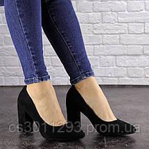 Женские туфли на каблуке Fashion Cassidy 1563 36 размер 23,5 см Черный, фото 2