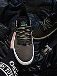 Мужская фирменная обувь Lacoste Khaki/White, фото 2