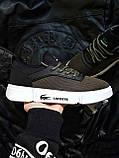 Мужская фирменная обувь Lacoste Khaki/White, фото 5