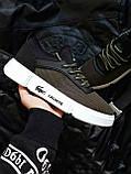 Мужская фирменная обувь Lacoste Khaki/White, фото 6
