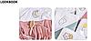 Полотенце махровое с капюшоном BabyOno 100х100 см Месяц (розовое), фото 9