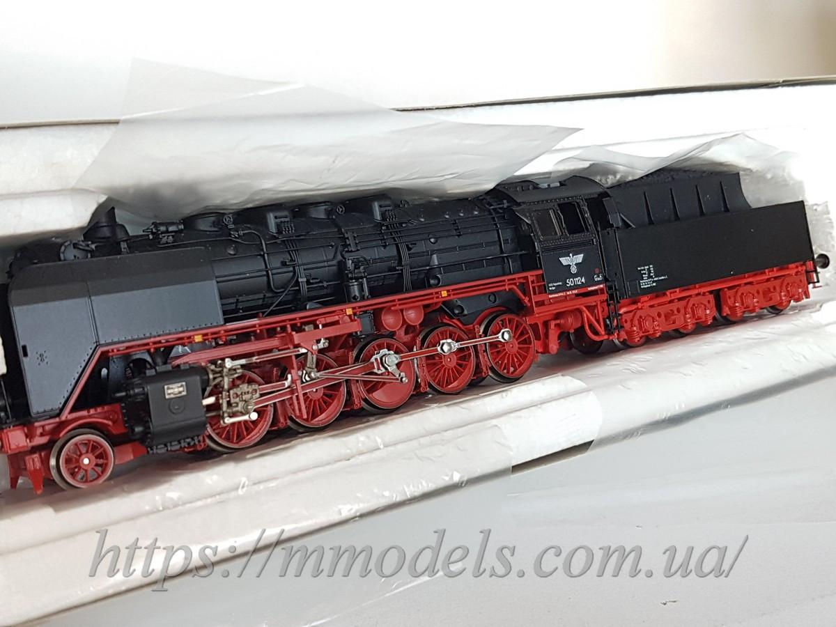 Модель паровоза серии BR50-1815 принадлежности DR, масштаба H0 1:87, Roco 43293