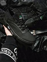 Мужская фирменная обувь Lacoste Black