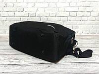 Спортивная, дорожная сумка рибок, Reebok с плечевым ремнем. Черная, фото 3