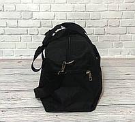 Спортивная, дорожная сумка рибок, Reebok с плечевым ремнем. Черная, фото 7