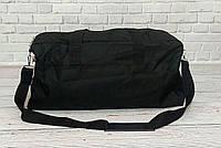 Спортивная, дорожная сумка рибок, Reebok с плечевым ремнем. Черная, фото 9