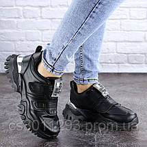 Кроссовки женские Fashion Basey 2128 36 размер 22,5 см Черный, фото 2