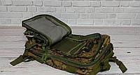 Тактический, походный рюкзак Military. 25 L. Камуфляжный, пиксель, милитари.  / T412, фото 3
