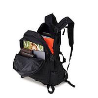 Тактический, походный рюкзак Military. 30 L. Черный, милитари.  / T402, фото 2