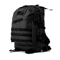 Тактический, походный рюкзак Military. 30 L. Черный, милитари.  / T402, фото 3