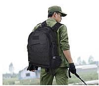 Тактический, походный рюкзак Military. 30 L. Черный, милитари.  / T402, фото 5