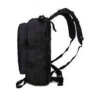 Тактический, походный рюкзак Military. 30 L. Черный, милитари.  / T402, фото 6