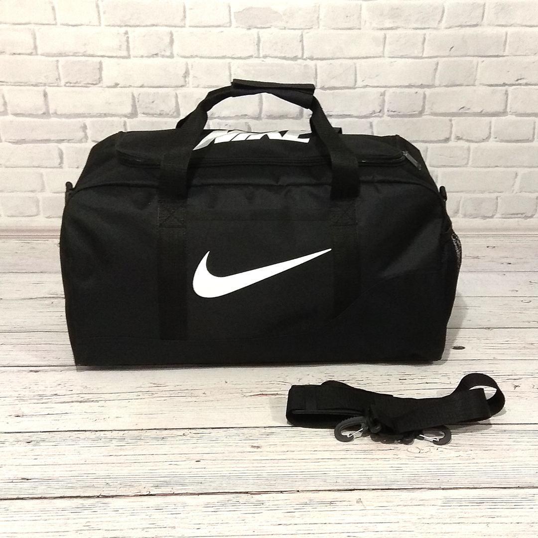 Сумка Nike, найк для тренировок, дорожная, спортивная. Черная