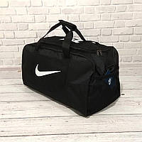 Сумка Nike, найк для тренировок, дорожная, спортивная. Черная, фото 2