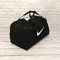 Сумка Nike, найк для тренировок, дорожная, спортивная. Черная, фото 9