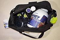 Спортивная сумка Reebok UFC, рибок для тренировок, дорожная. Черная, фото 4