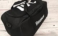 Спортивная сумка Reebok UFC, рибок для тренировок, дорожная. Черная, фото 7