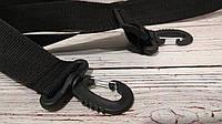 Спортивная сумка Reebok UFC, рибок для тренировок, дорожная. Черная, фото 8