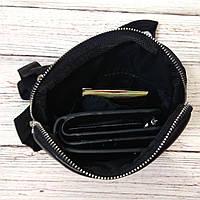 Стильная сумка через плечо, барсетка Tommy Hilfiger, томи. Черная, фото 3