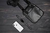 Стильная сумка через плечо, барсетка Tommy Hilfiger, томи. Черная, фото 4