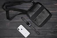 Стильная сумка через плечо, барсетка Tommy Hilfiger, томи. Черная, фото 5