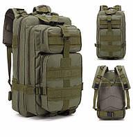 Тактический, военный, походный рюкзак Military. 25 L. Хаки. Милитари.  / T 423, фото 9